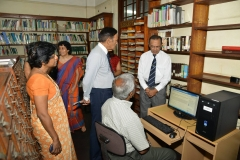 Donation of computers to the Library 3rd September 2013