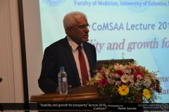 Stability and growth for prosperity 2018 COMSAA lecture